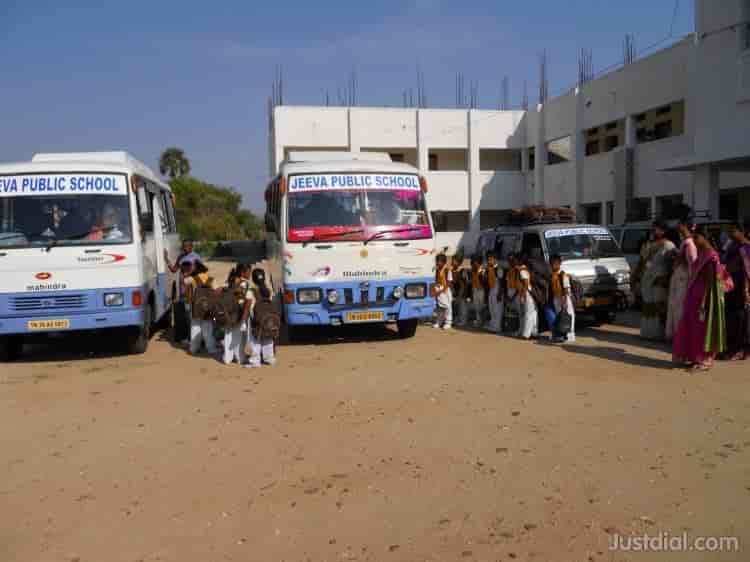 Jeeva Public School, Salem  - School Bus