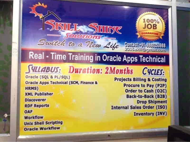 Skill Shine Solutions, B Narayanapura - Oracle Training