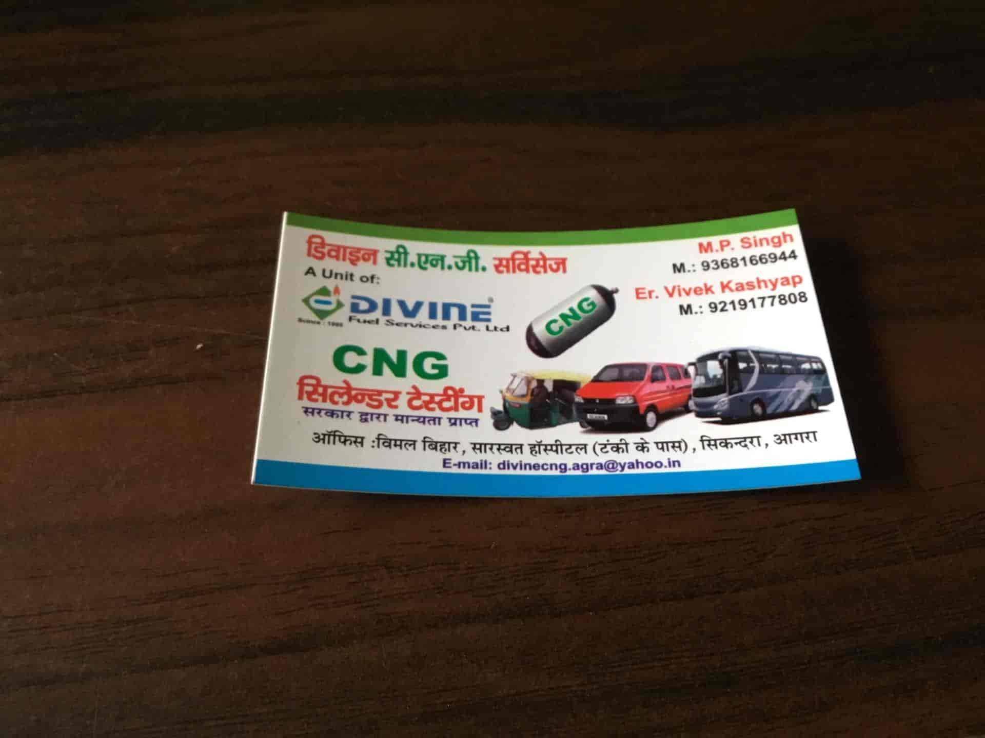 Divine Cng Services Pvt Ltd, Sikandra - CNG Cylinder Testing