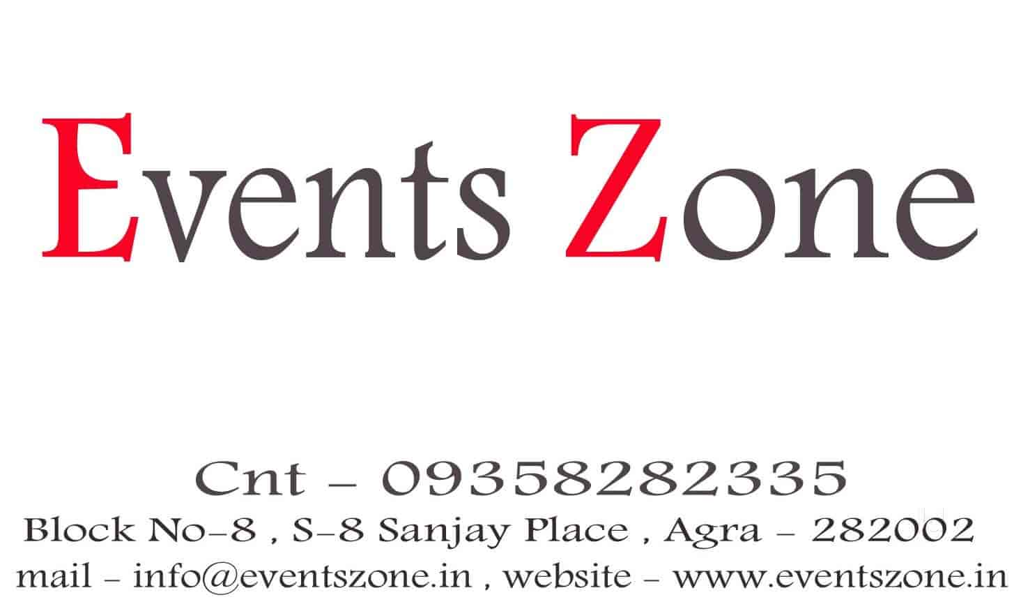 Events Zone Photos, Avas Vikash Colony, Agra- Pictures