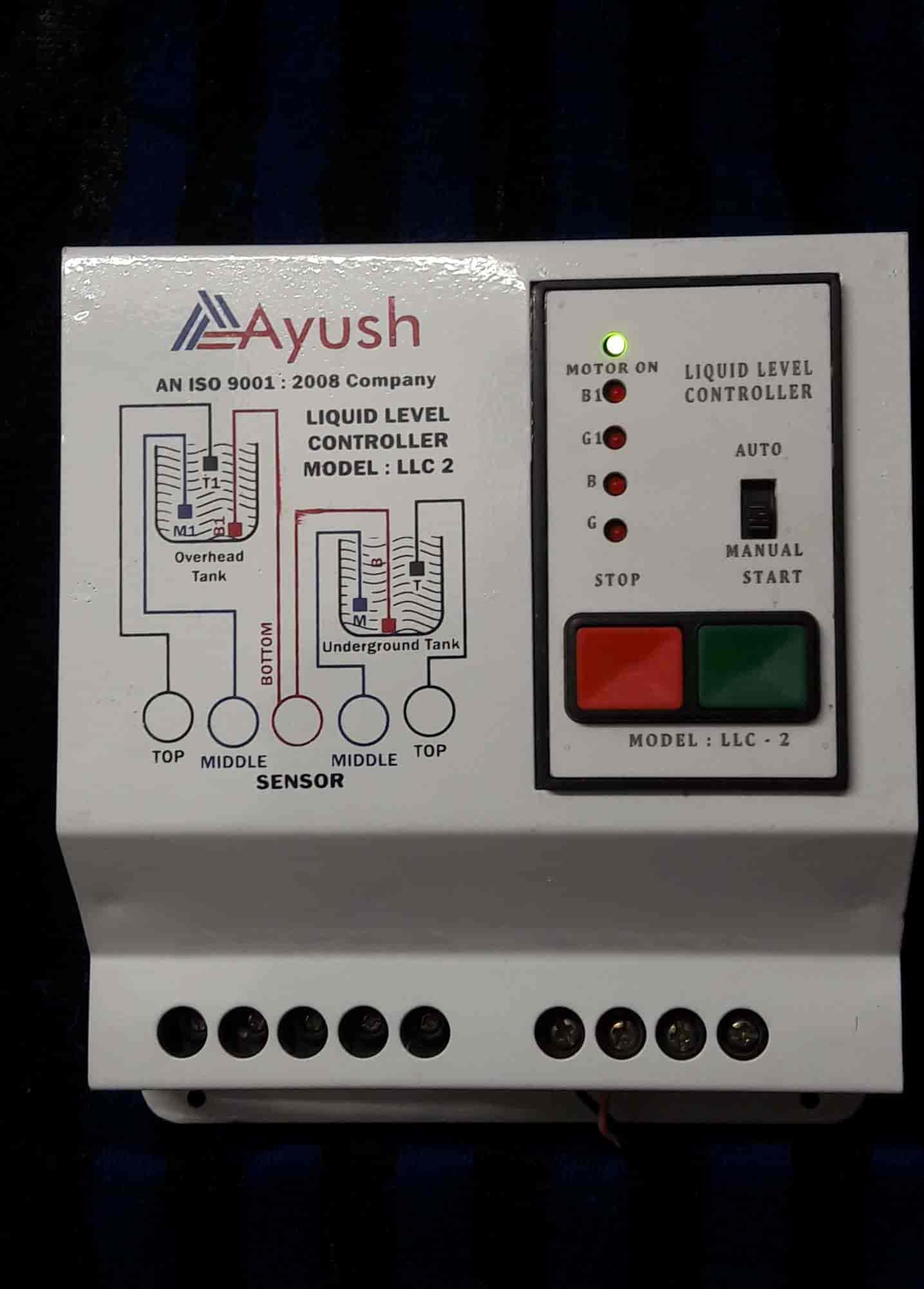 Ayush Electronic Satellite Aayush Water Level Controller Manufacturers In Ahmedabad Justdial