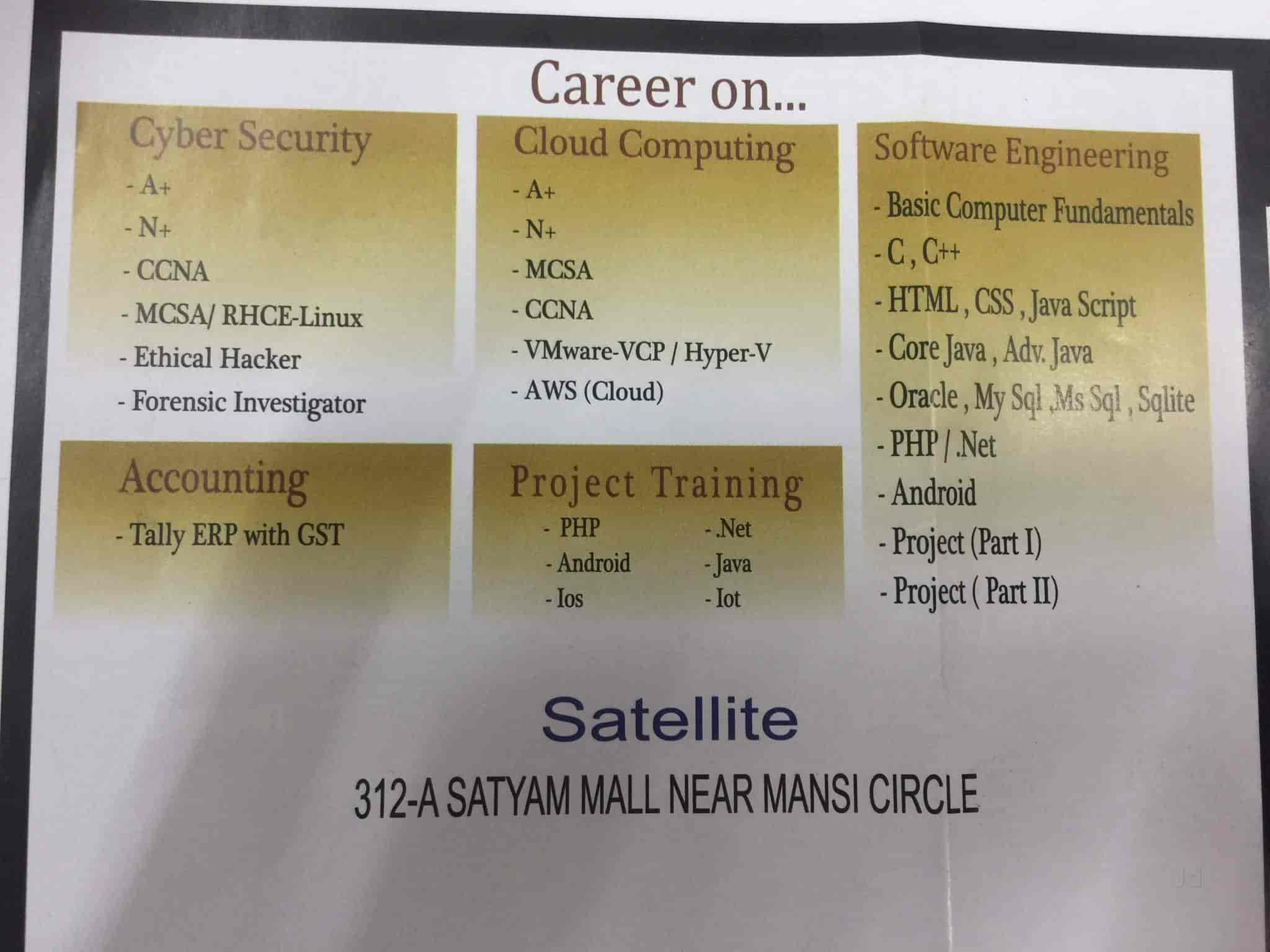 H & B Computer Education, Satellite - Computer Training