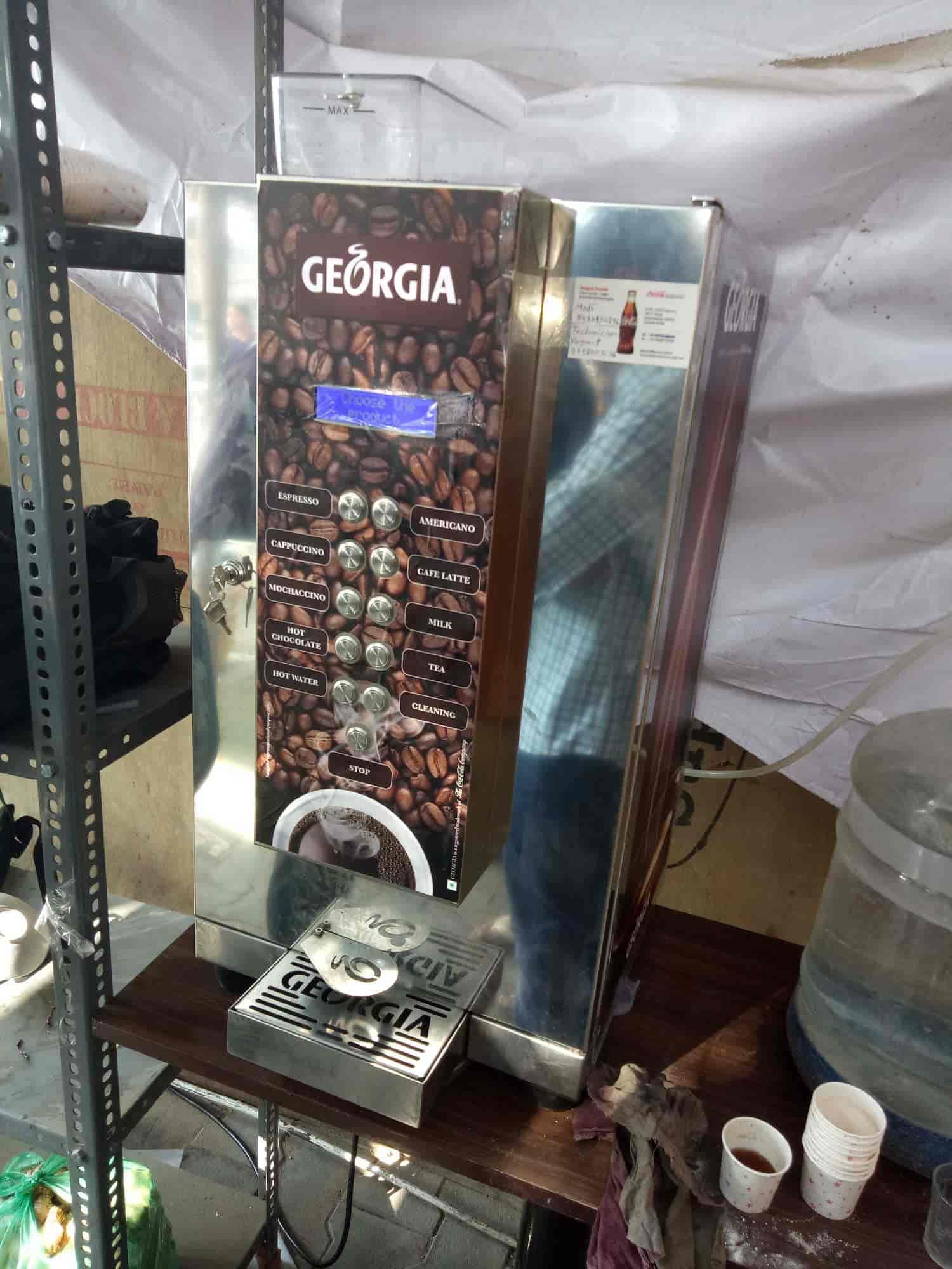Tea Vending Machine Georgia A Coca Cola Company Images Ahmedabad