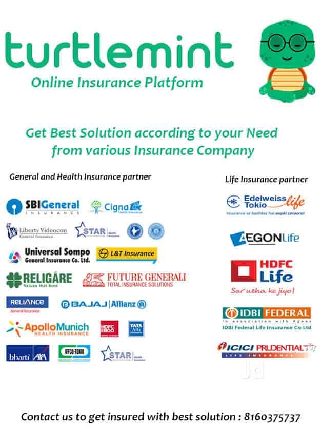 Turtlemint, Nehru Nagar-jodhpur Tekra - Insurance Agents in