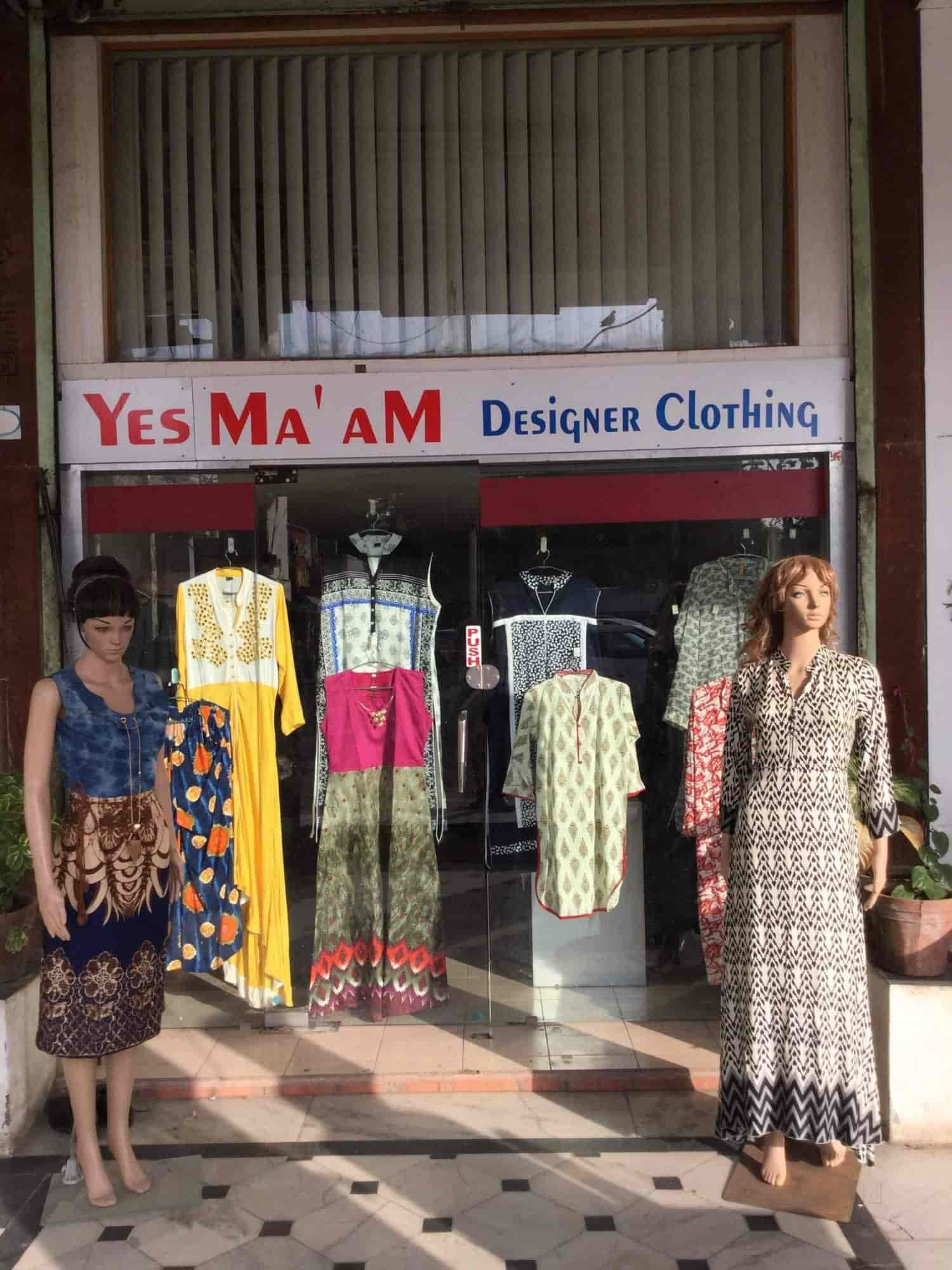Front View of Garment Shop - Yes Maam Designer Clothing Photos,  Navrangpura, ... b846d87d7e7