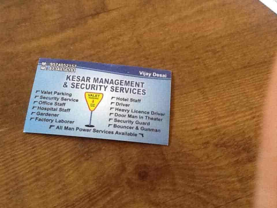 Kesar Security Services And Valet Parking Services