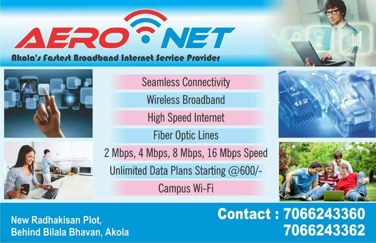 Aeronet Broadband Internet Service Provider Connection Sharing Diagram Providers In Akola Justdial