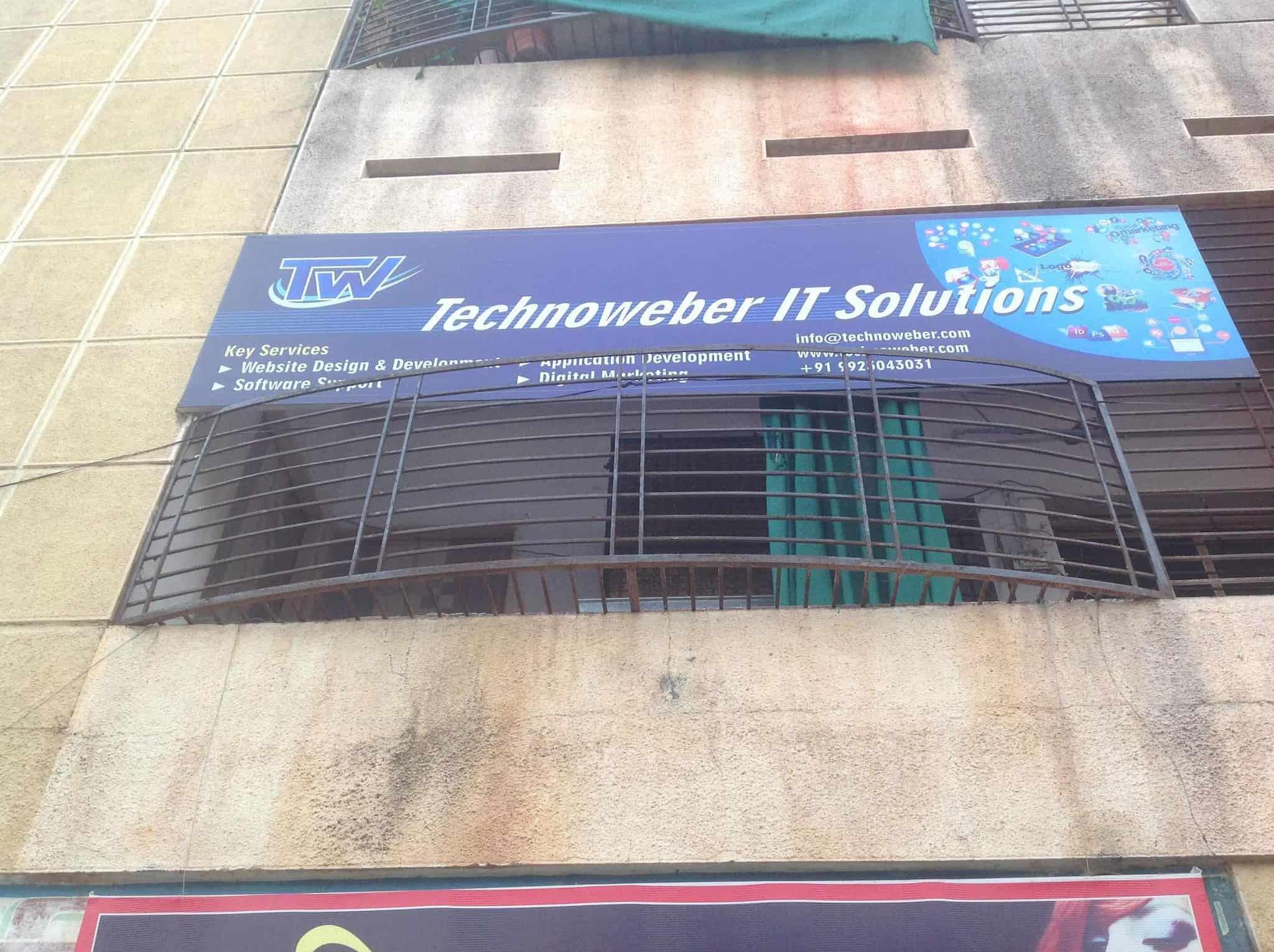 Technoweber It Solutions, Rajapeth - Internet Website