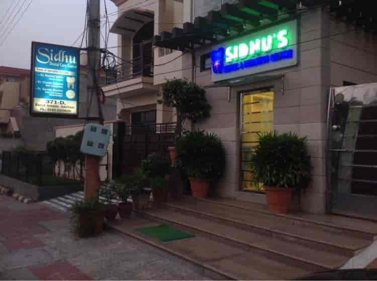 Sidhu Dental Care & Wellness Centre, Amritsar  - Front View