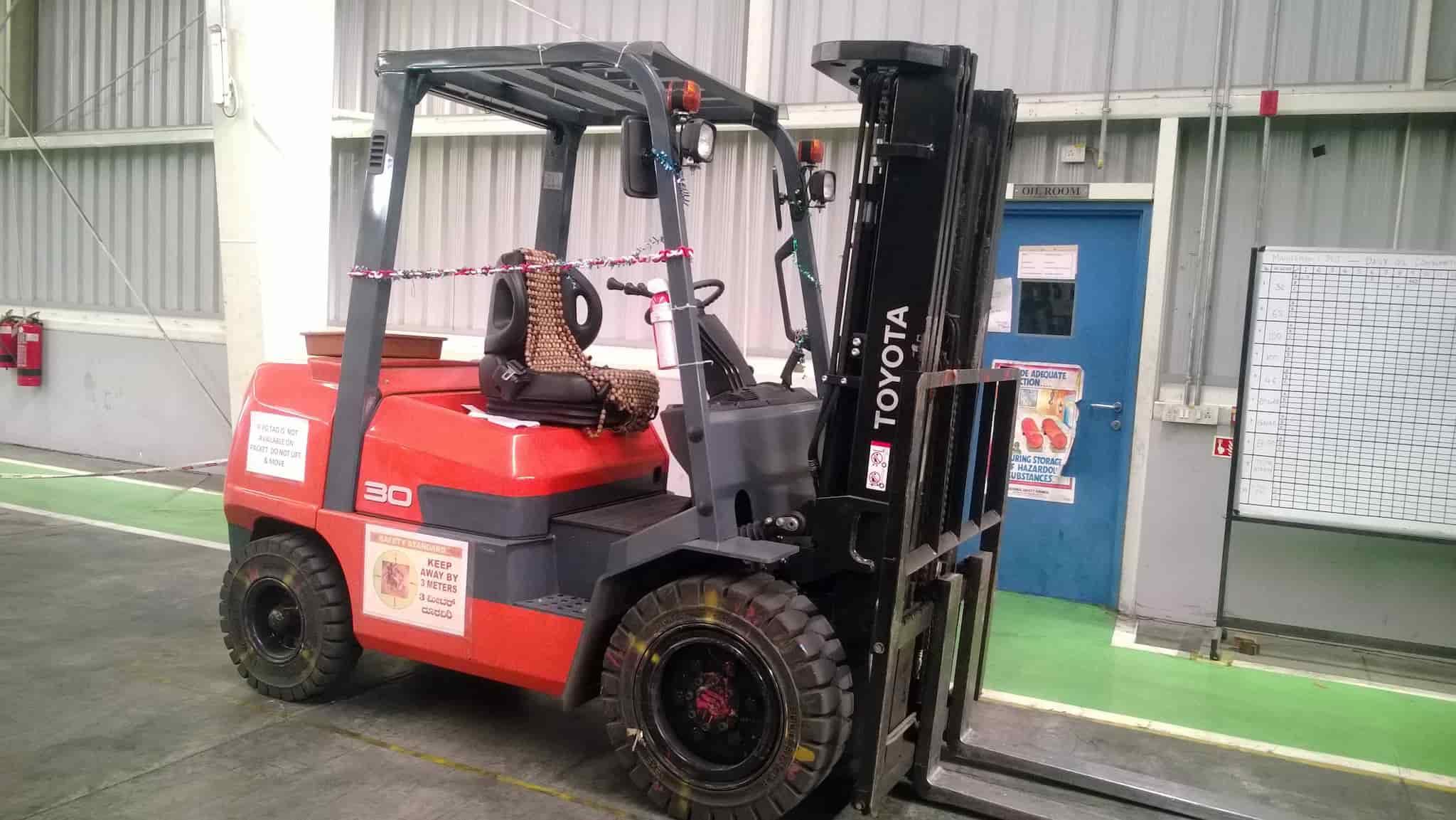 Hi Tech Forklift Services, Nagasandra - Forklifts On Hire in