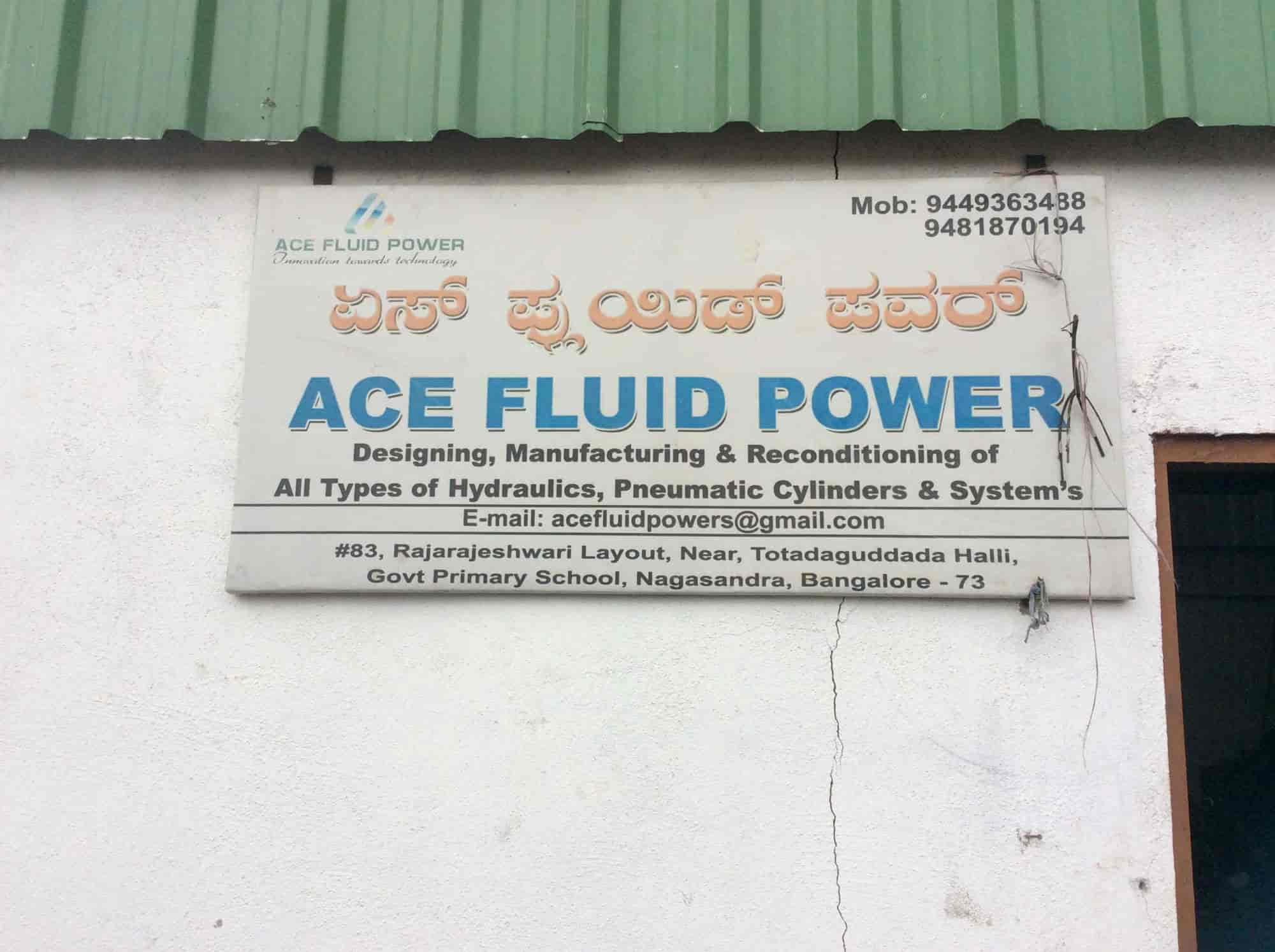 Ace Fluid Power, Hessargatta Main Road - Hydraulic Cylinder