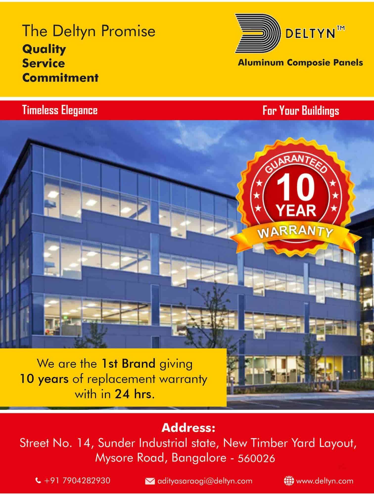 Govind International, Mysore Road - Aluminium Composite