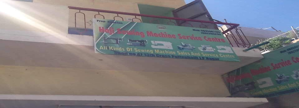 Haji Sewing Machine Service Center Jp Nagar 40th Phase B M Sewing Inspiration Usha Sewing Machine Service Center In Bangalore