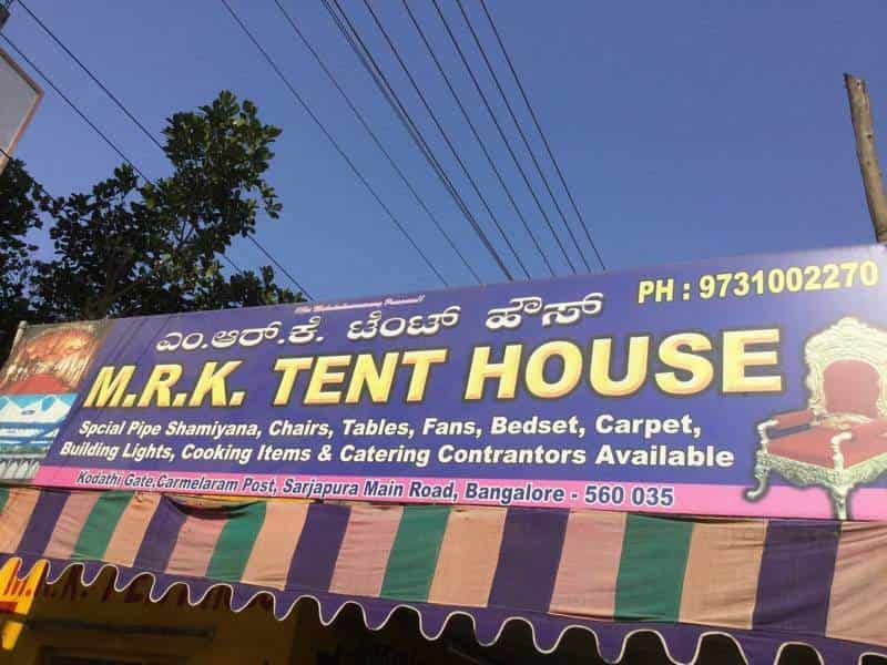 M R K Tent House & M R K Tent House Carmelram - Tent House in Bangalore - Justdial