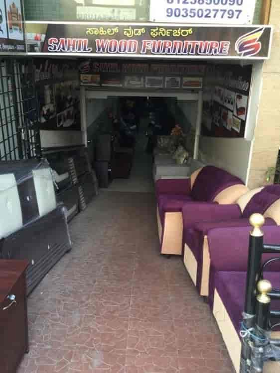 Sahil Wood Furniture Shivaji Nagar Bangalore - Furniture Dealers