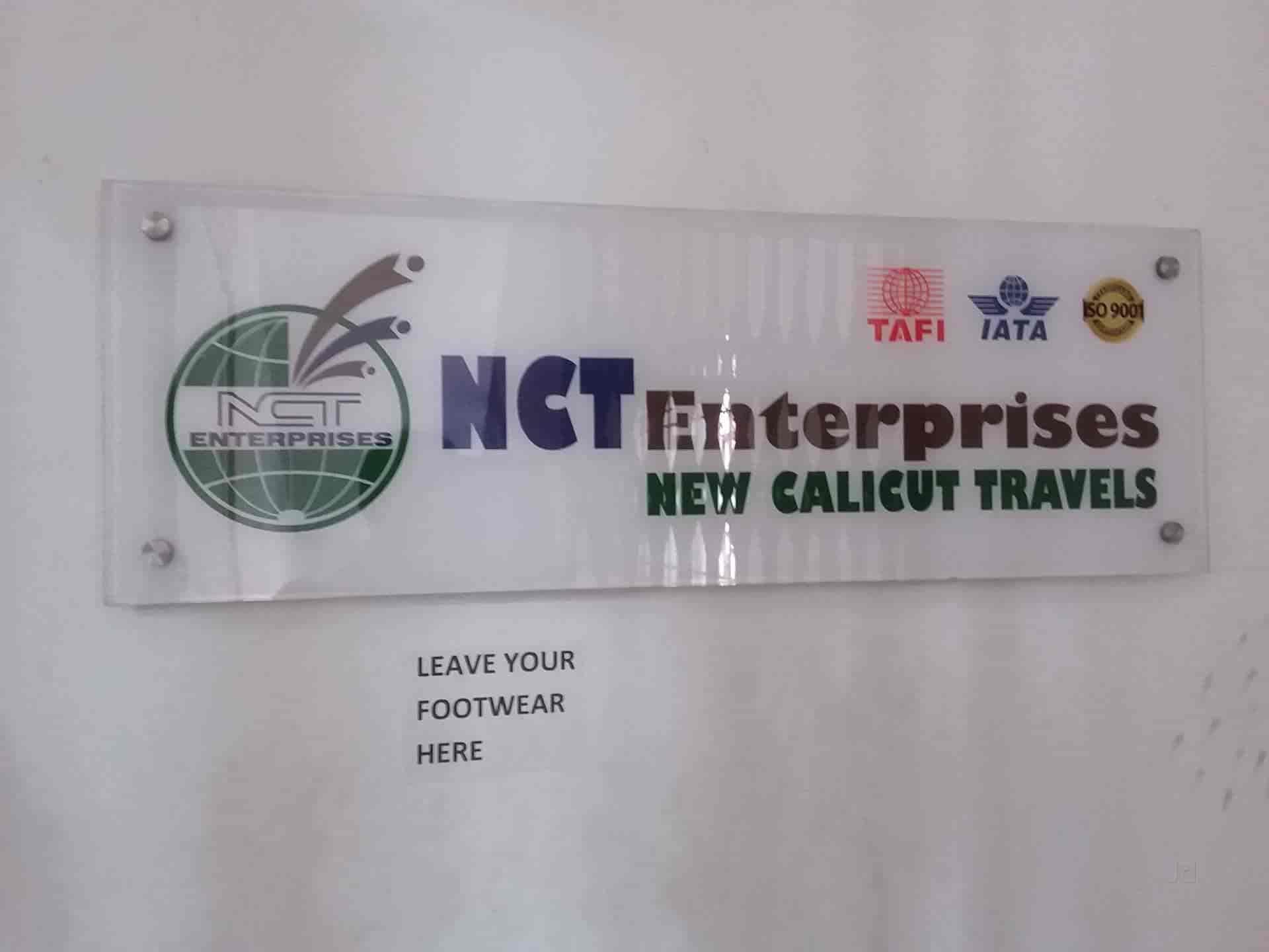 NCT Enterprises New Calicut Travles, Rt Nagar