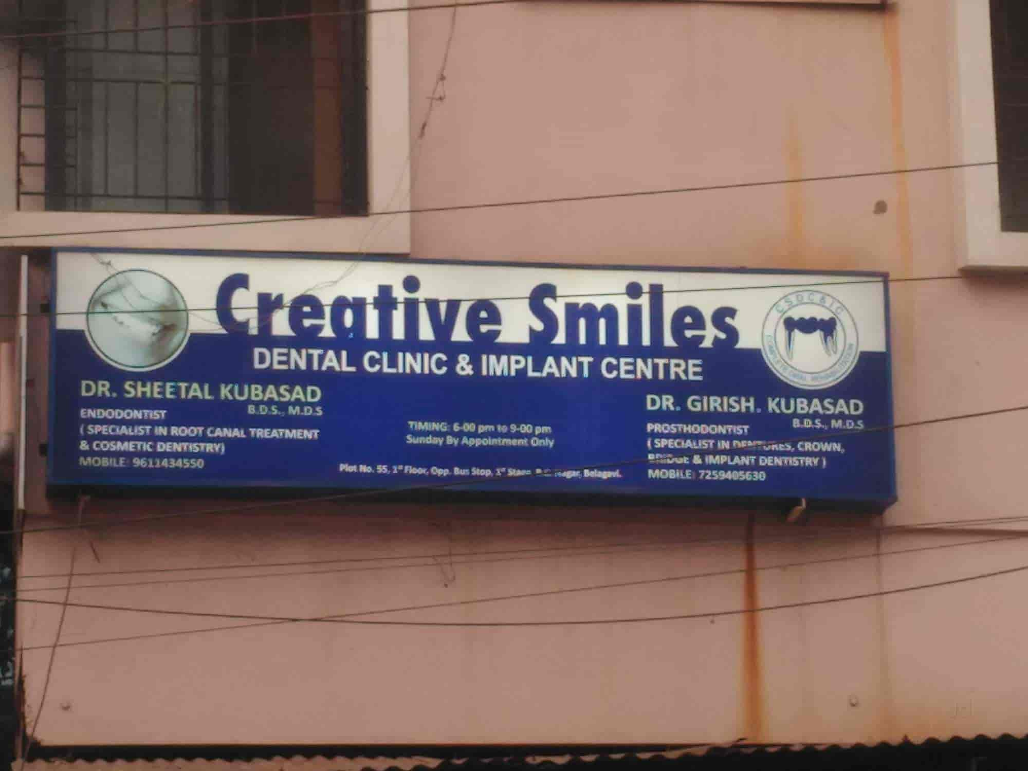 Creative Smiles Dental Clinic and Implant Centre - Dentists