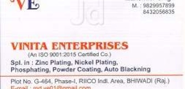 Top Plating Services in Bhiwadi - Best Electroplating