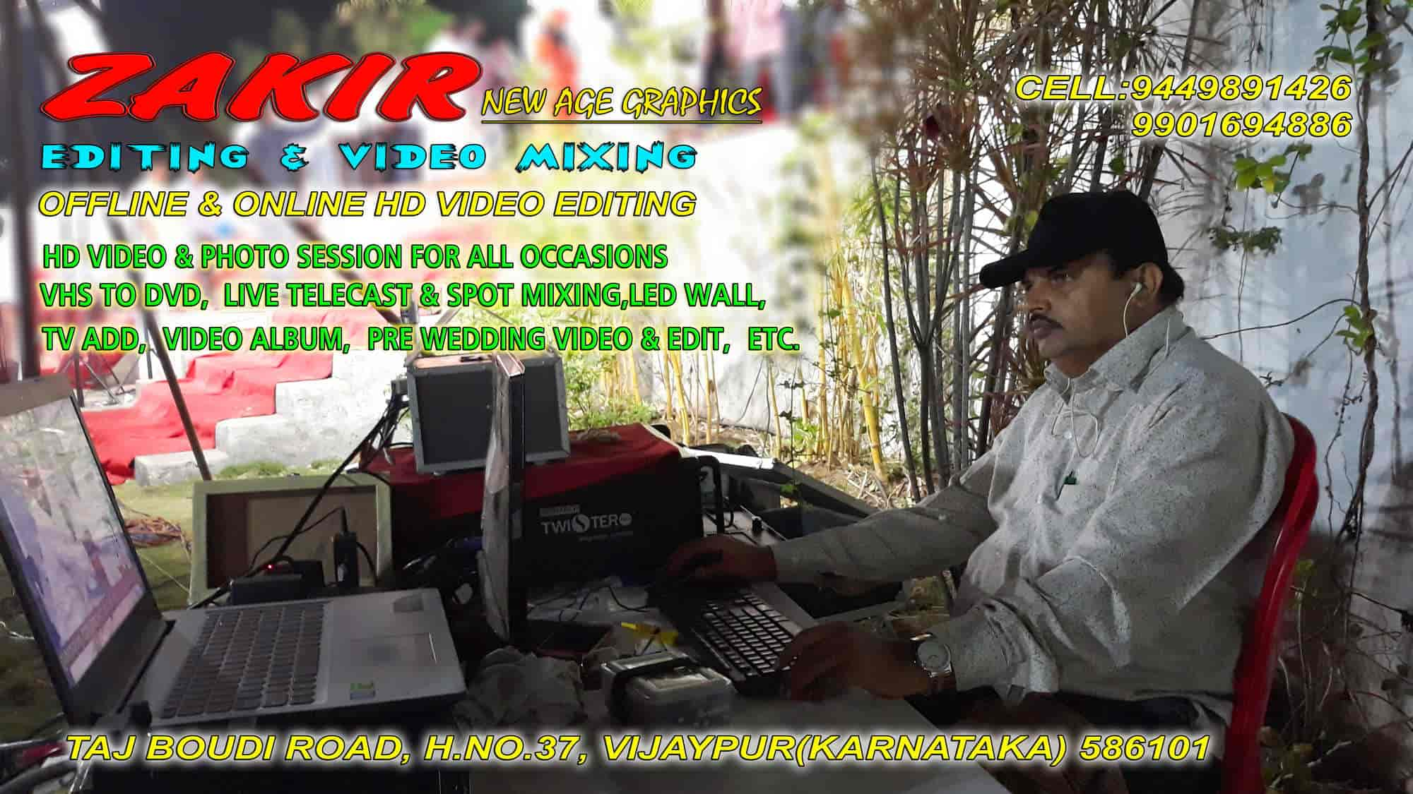 Zakir Editing & Video Mixing, Bijapur - Video Shooting