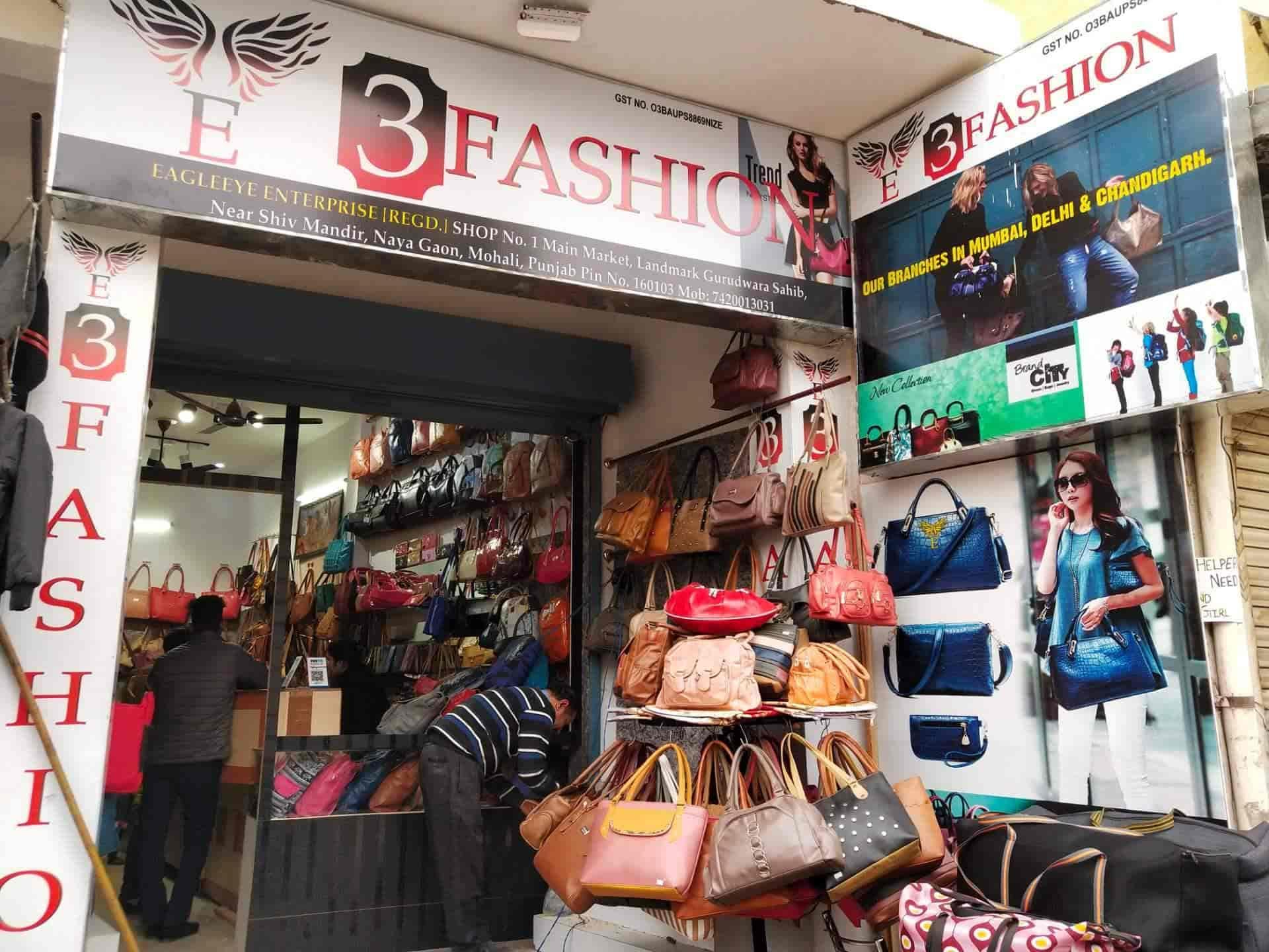 E 3 Fashion, Naya Gaon - Bag Dealers in Chandigarh - Justdial