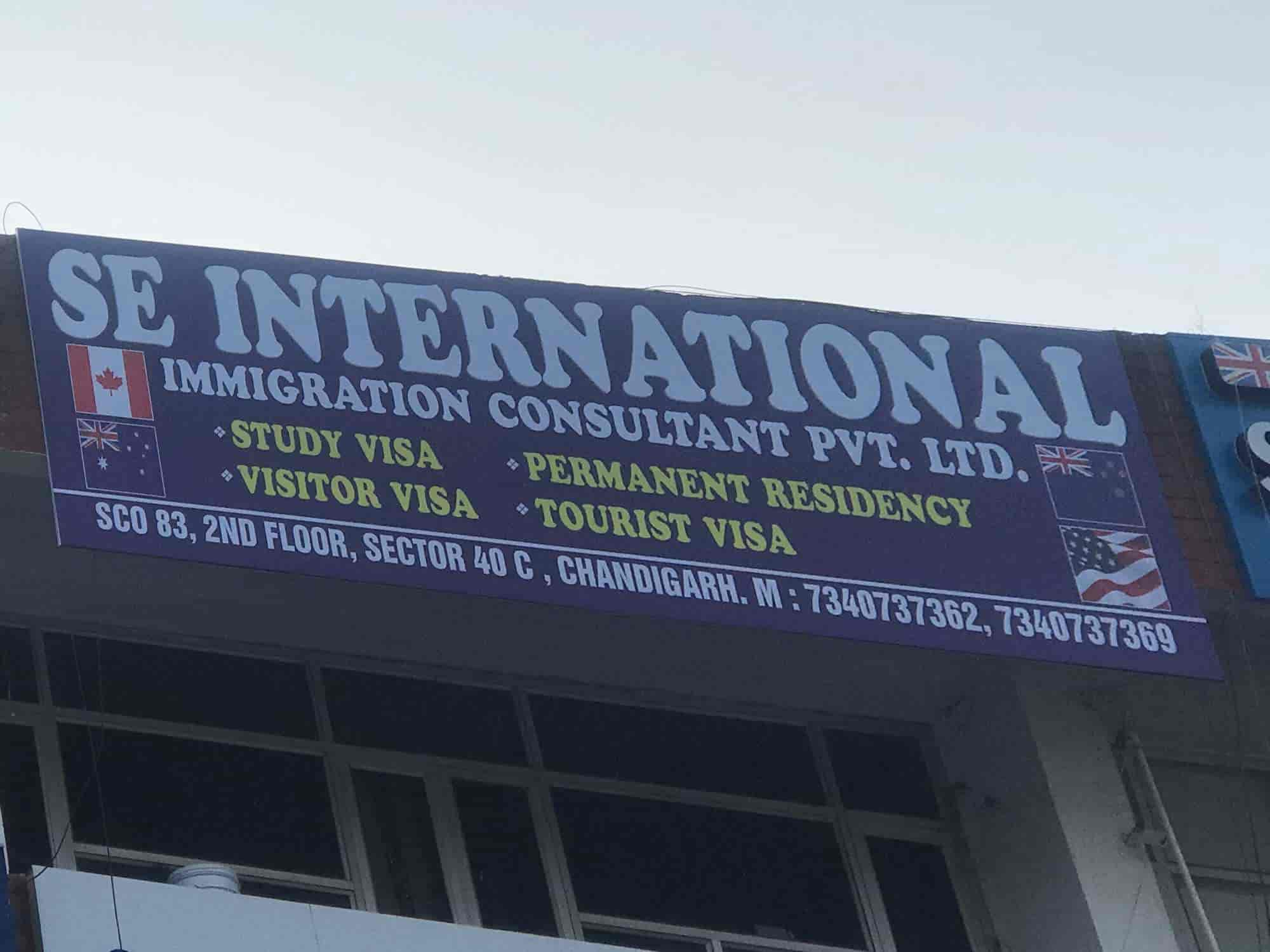 Se International Immigration Consultant Pvt Ltd, Near Canra Bank - Immigration  Consultants in Chandigarh - Justdial