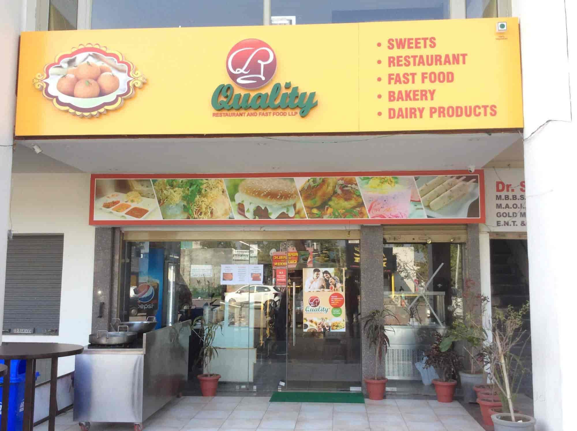 Quality Restaurant Fast Food Llp Panchkula Sector 25 Chandigarh South Indian North Cuisine Justdial