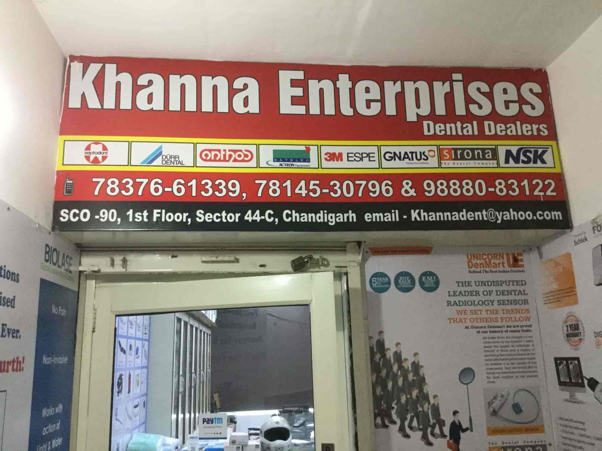 Khanna Enterprises, Sector 44c - Fractured Tooth