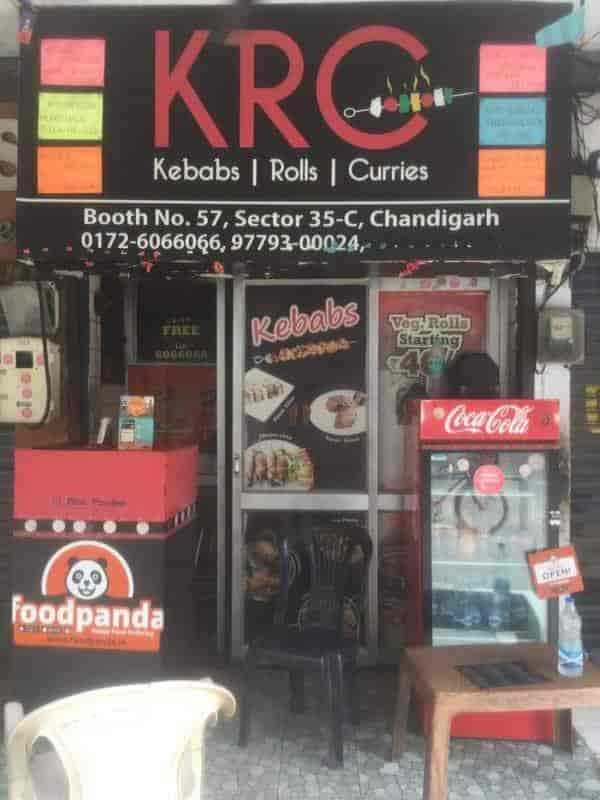 Krc Kebabs Rolls Curries, Chandigarh Sector 35c, Chandigarh
