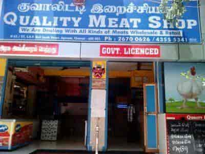 Quality Meat Shop, Agaram - Meat Retailers in Chennai - Justdial