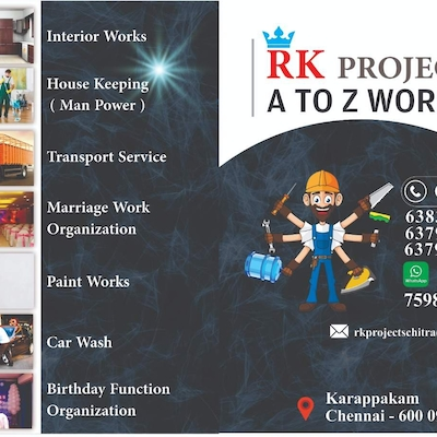 R K Project A To Z Workers, Karapakkam - House Painters in