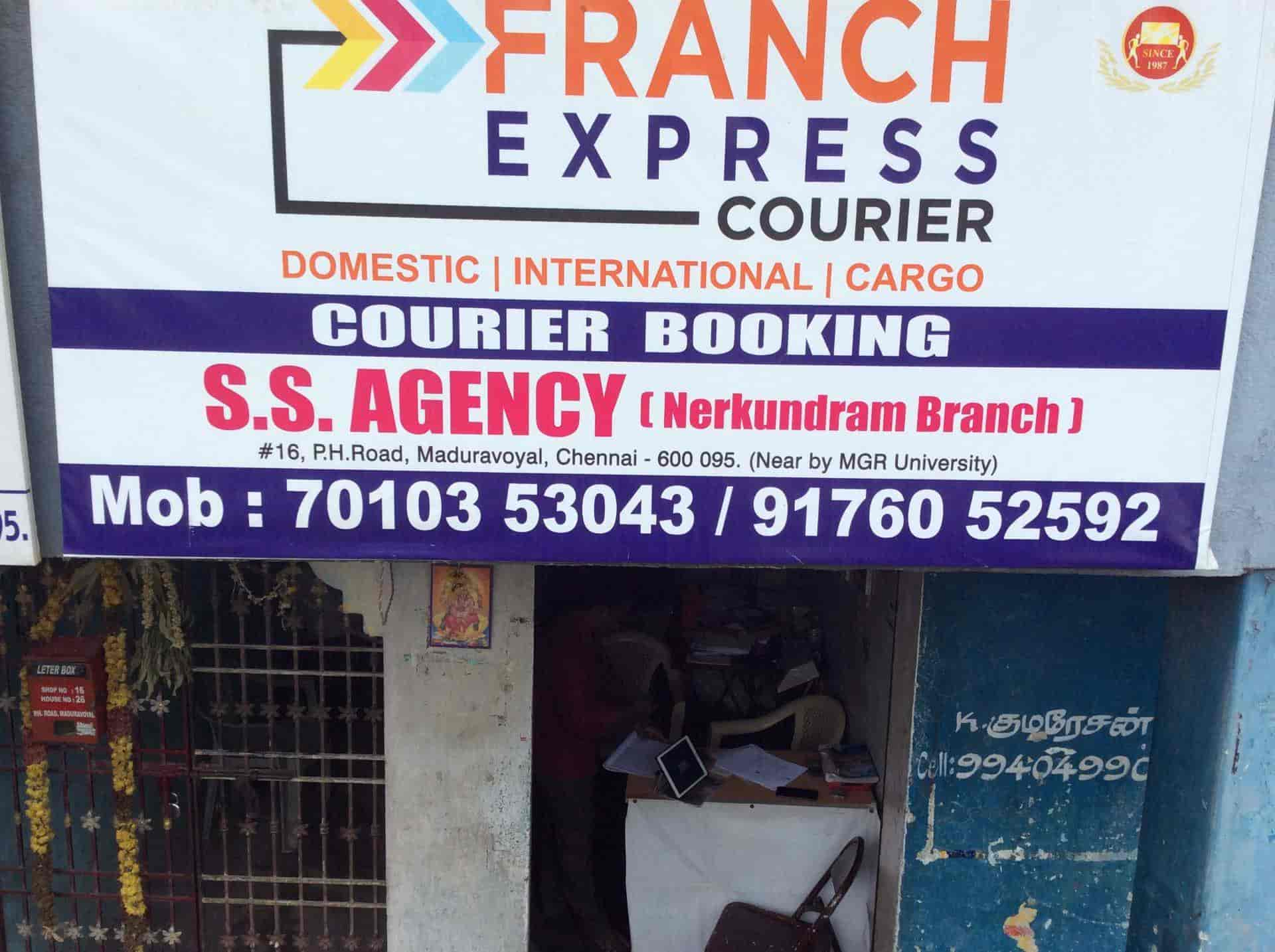 Franch Express Network, Maduravoyal - Courier Services in