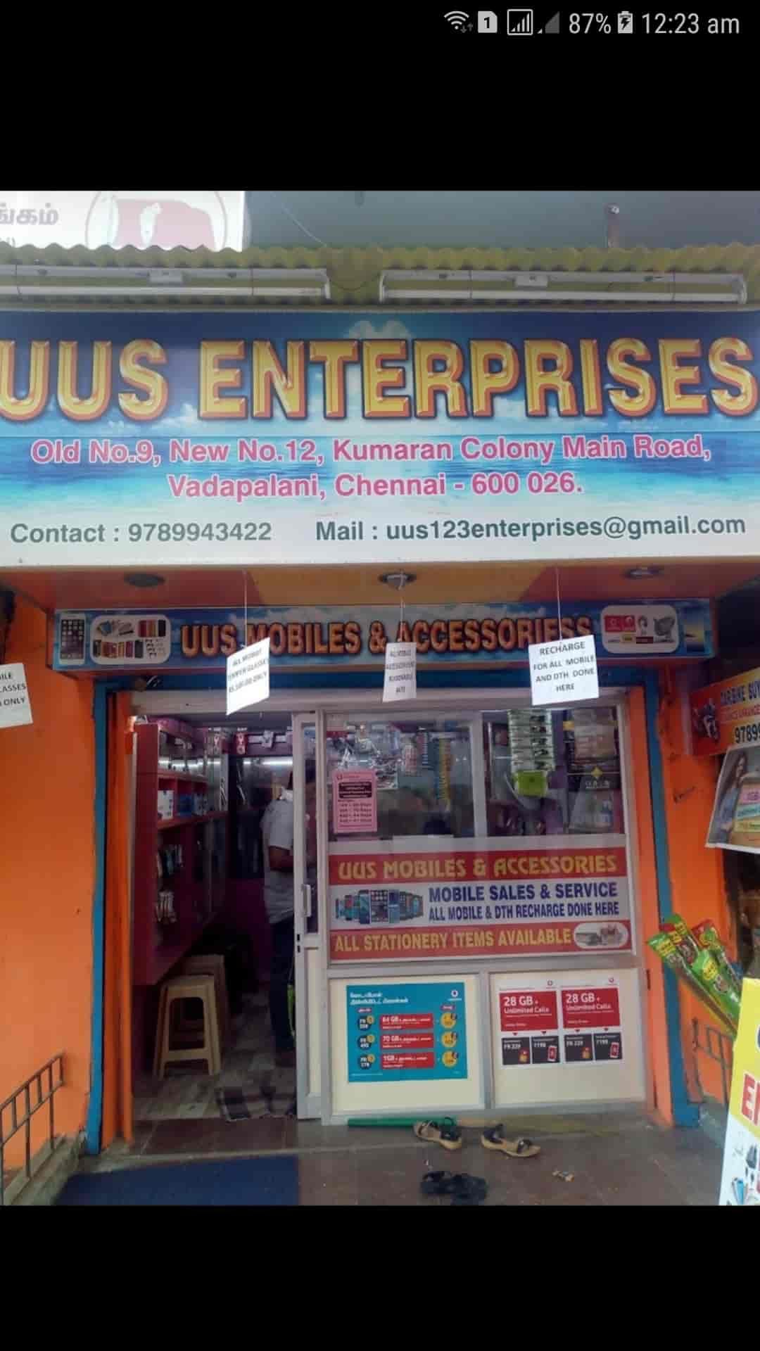Uus Enterprises, Vadapalani - Mobile Phone Repair & Services