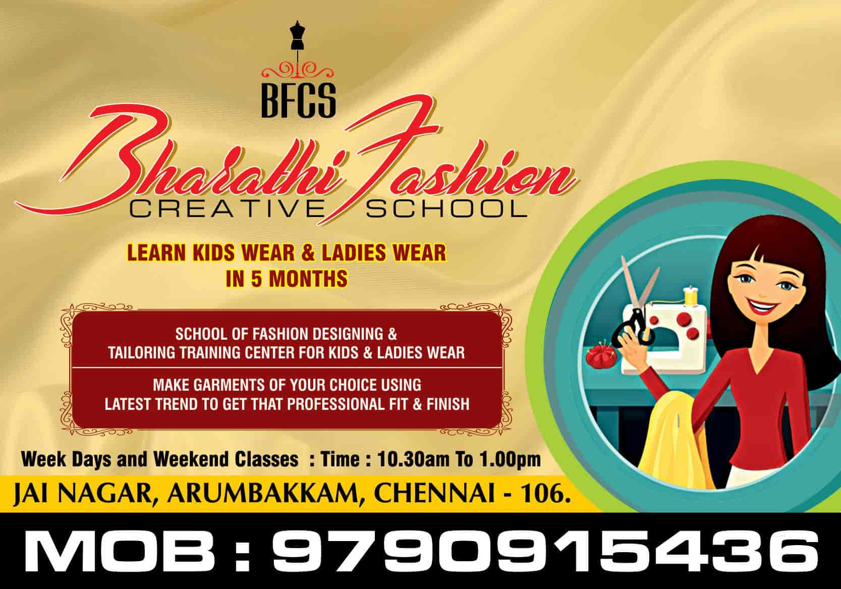 Top 100 Tailoring Classes In Chennai Best Sewing Classes Justdial