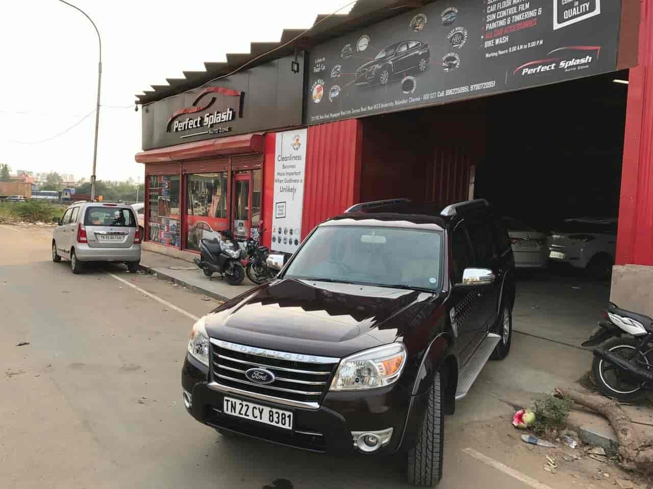 Perfect Splash Auto Zone, Nolambur - Car Polishing Services