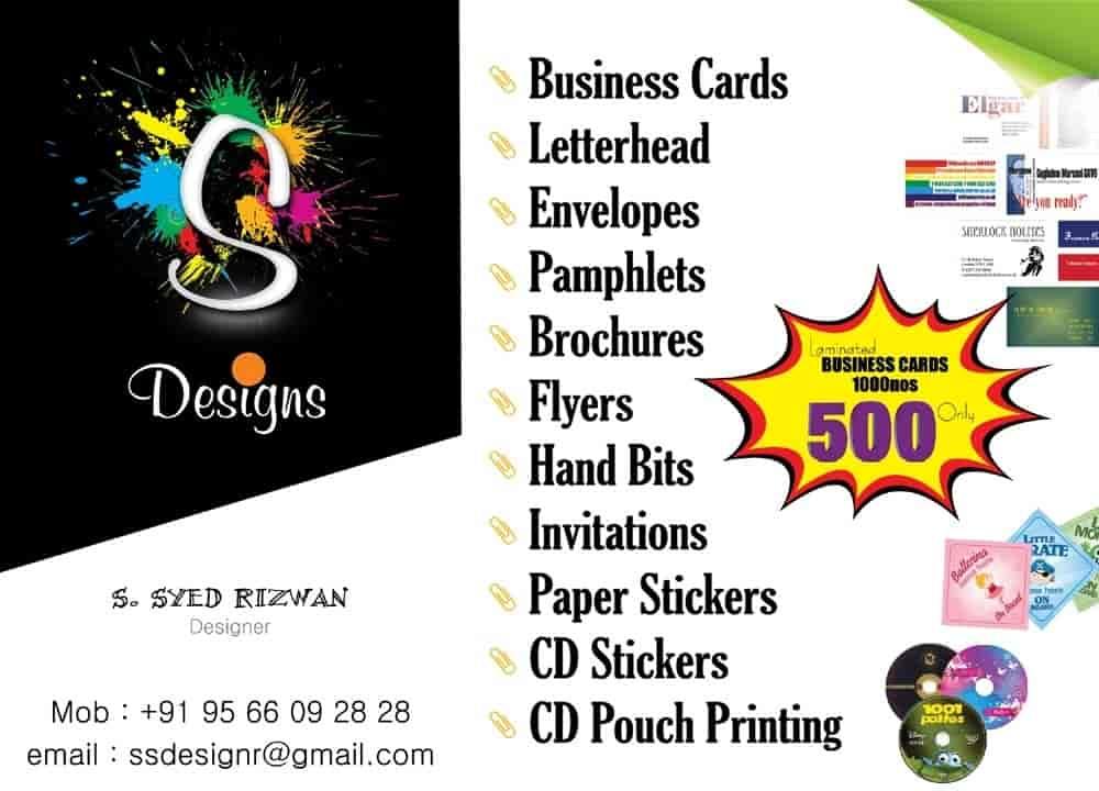 s s designs digital printing pammal digital printers in