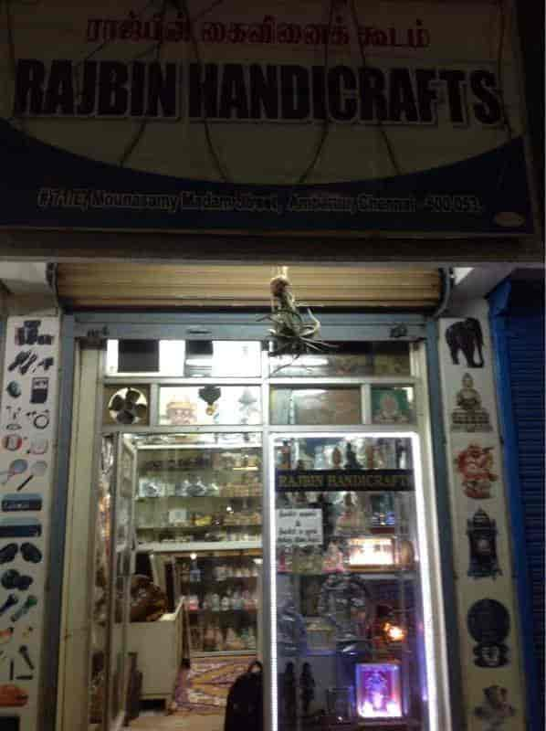 Rajbin Handicrafts Ambattur Gift Shops In Chennai Justdial