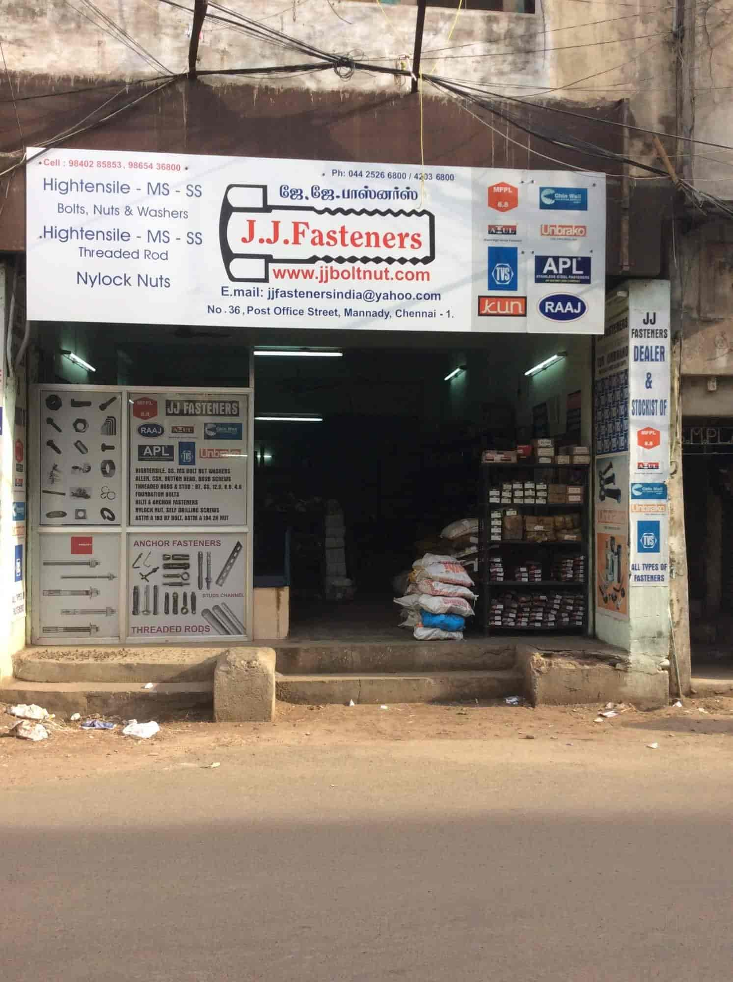 JJ Fasteners, Parrys - Fastener Dealers in Chennai - Justdial