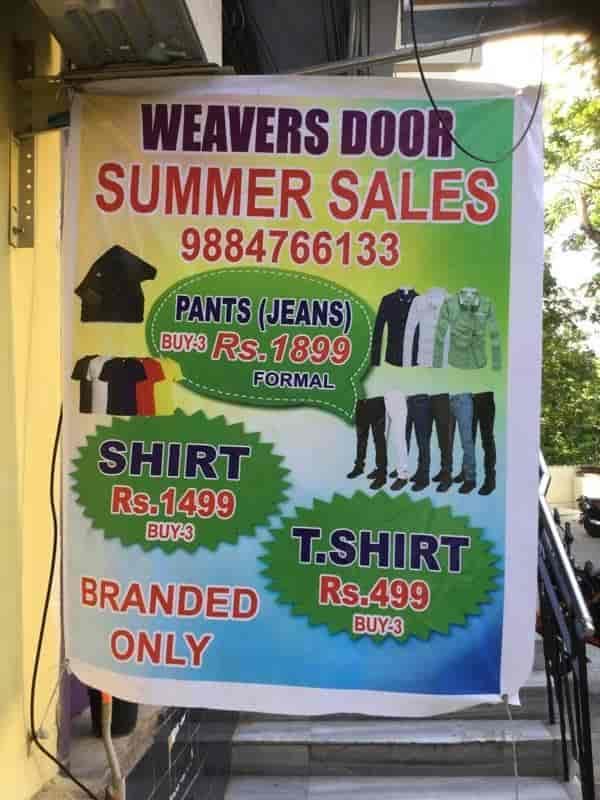Weavers Door & Weavers Door Anna Nagar - Mens Wear Retailers in Chennai - Justdial Pezcame.Com