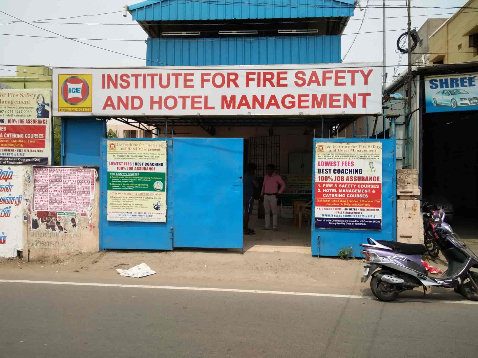 Ice Institute For Fire Safety And Hotel Management Adambakkam Ice