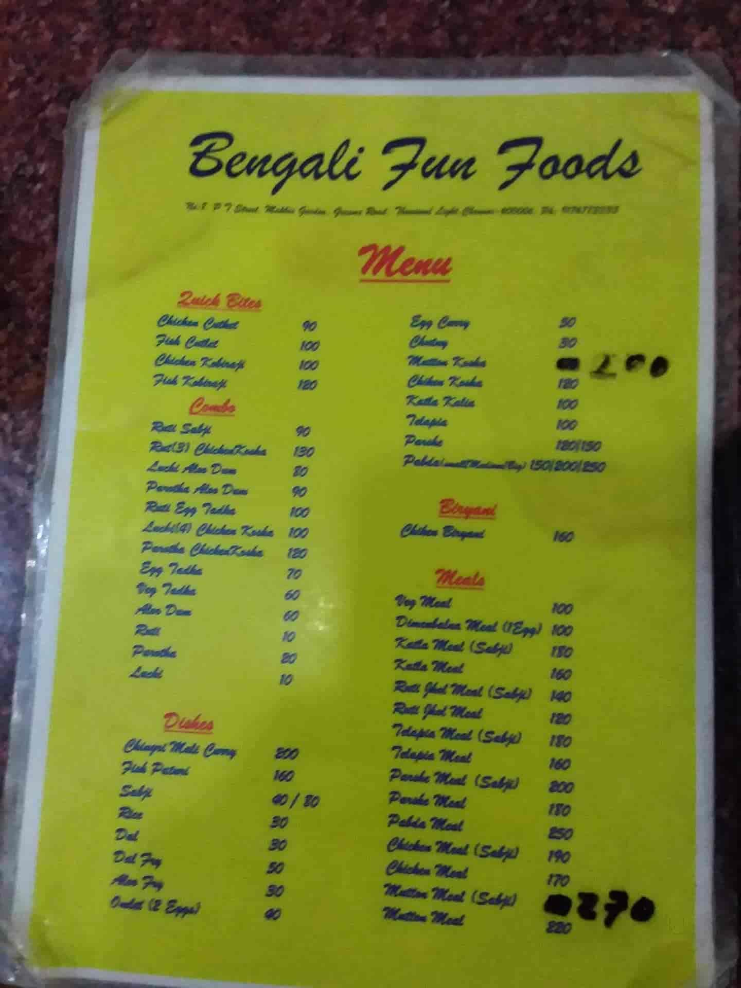 Top Bengali Restaurants in T Nagar - Best Authentic Bengali