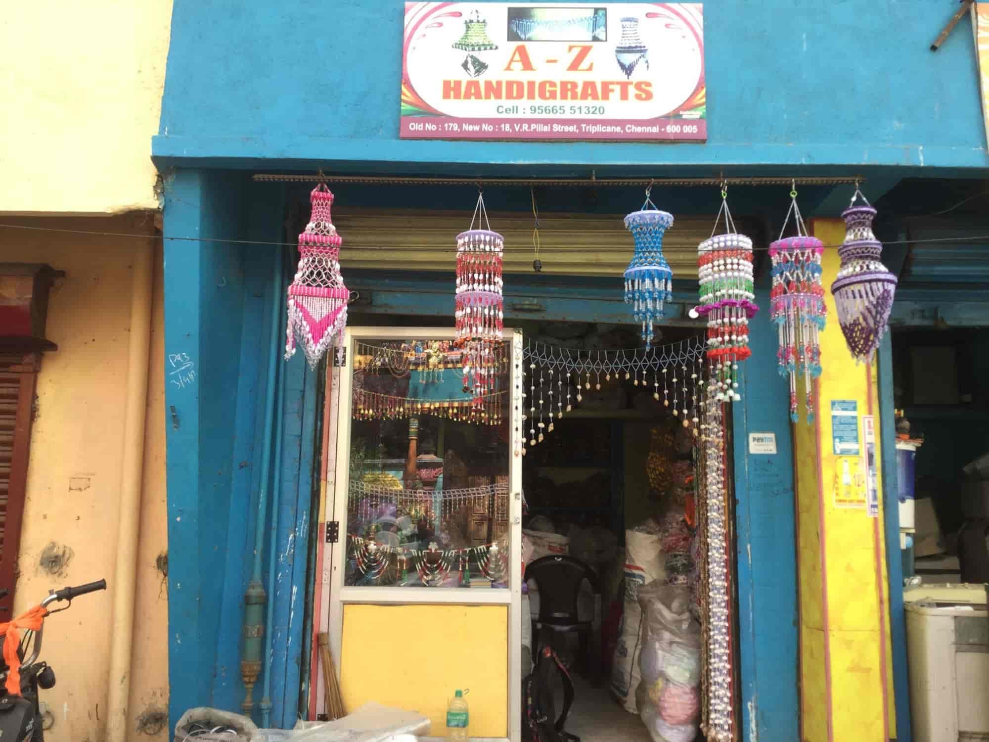 A Z Handicrafts Triplicane Gift Shops In Chennai Justdial