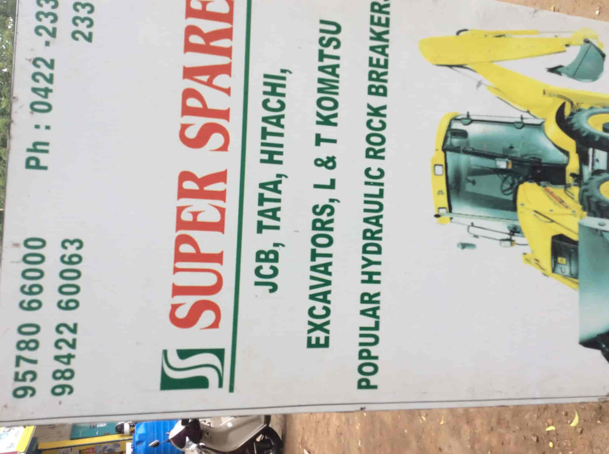 Super Spares, Rathinapuri - Earthmover Equipment Part
