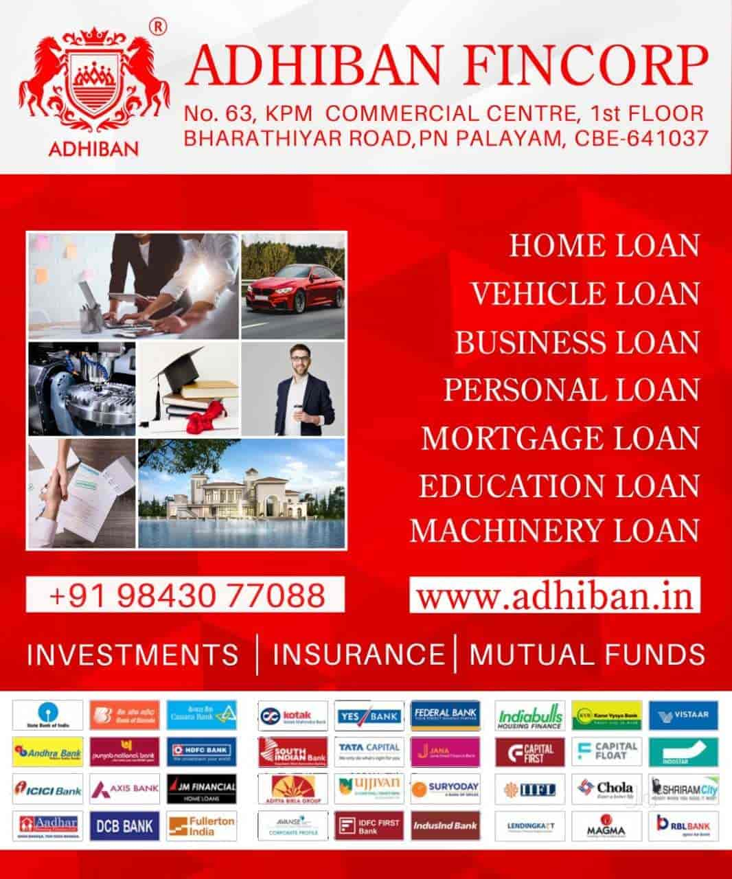 Top 100 Personal Loan Services In Coimbatore Best Personal Finance Justdial