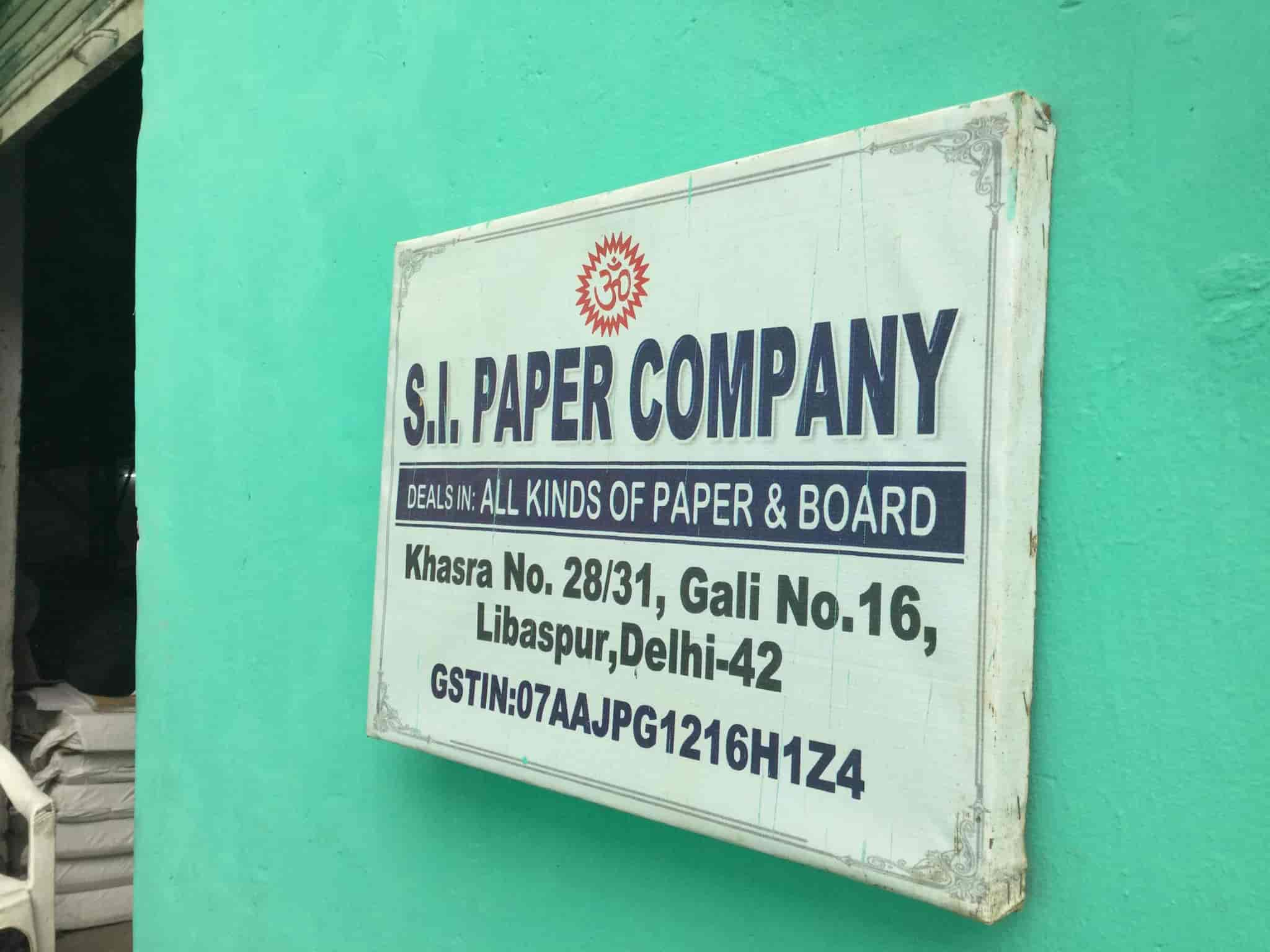S I Paper Company, Libaspur - Sticker Dealers in Delhi