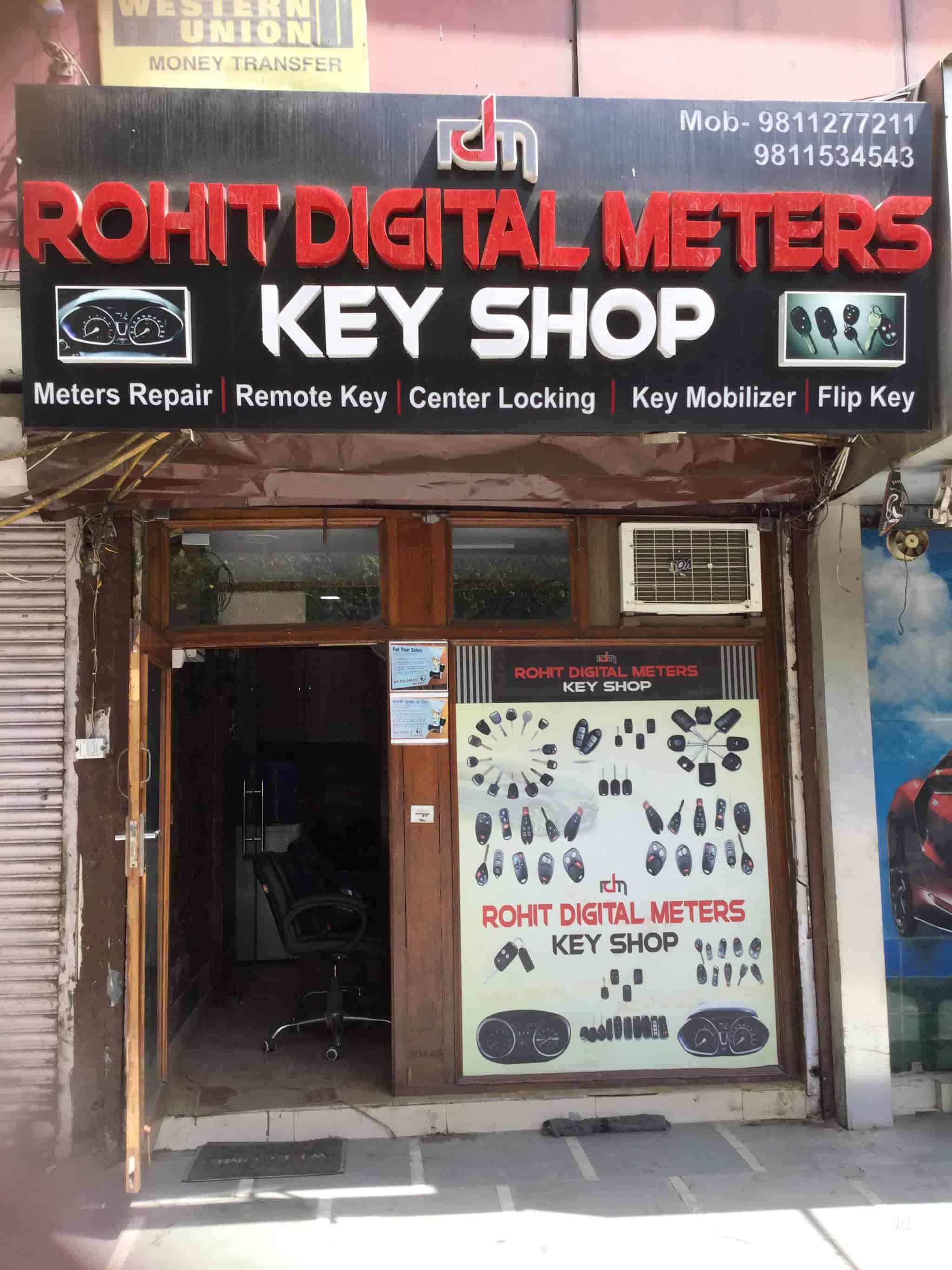 Rohit Digital Meters Key Shop, Karampura - Duplicate Key