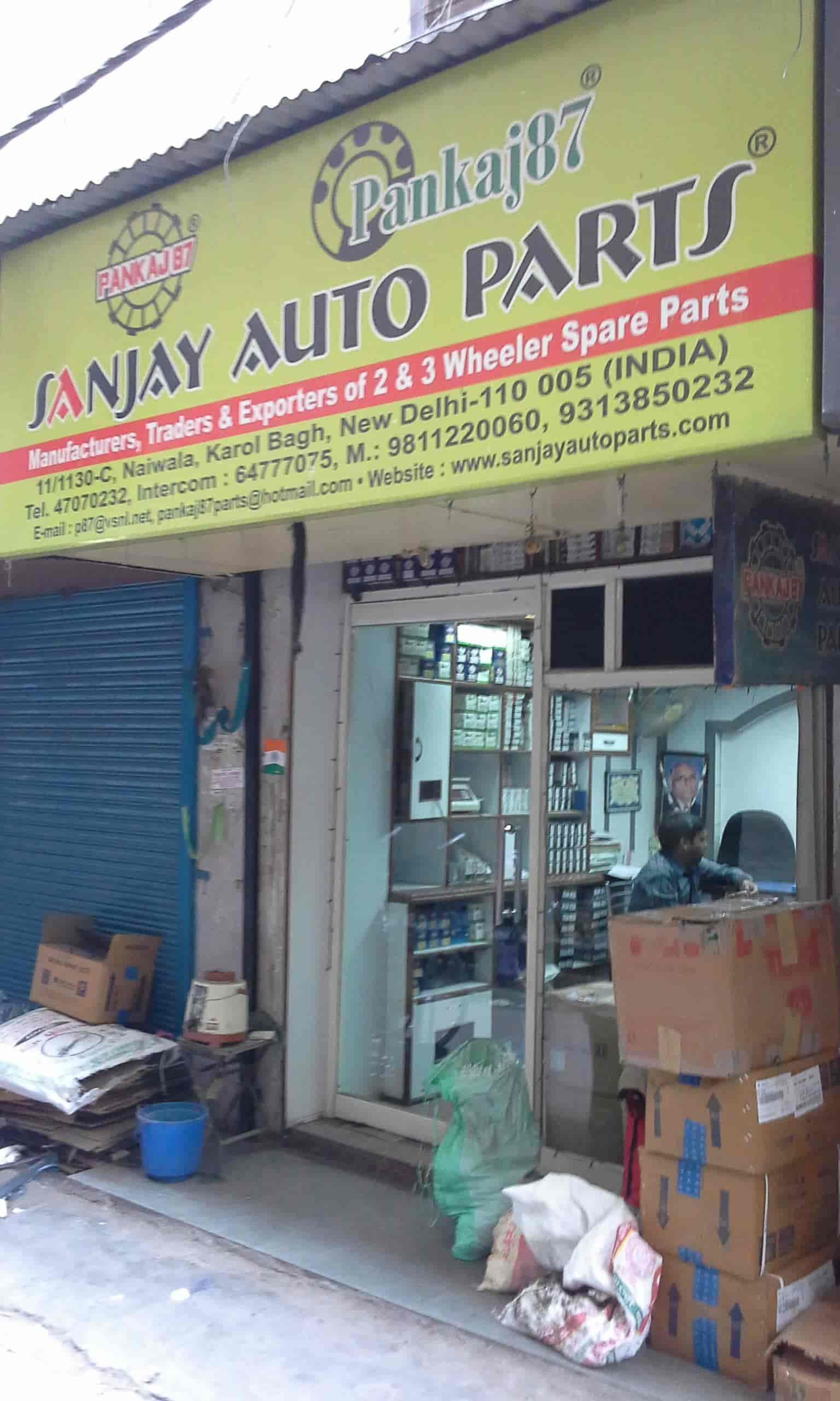 Sanjay Auto Parts, Karol Bagh - Automobile Part Dealers in