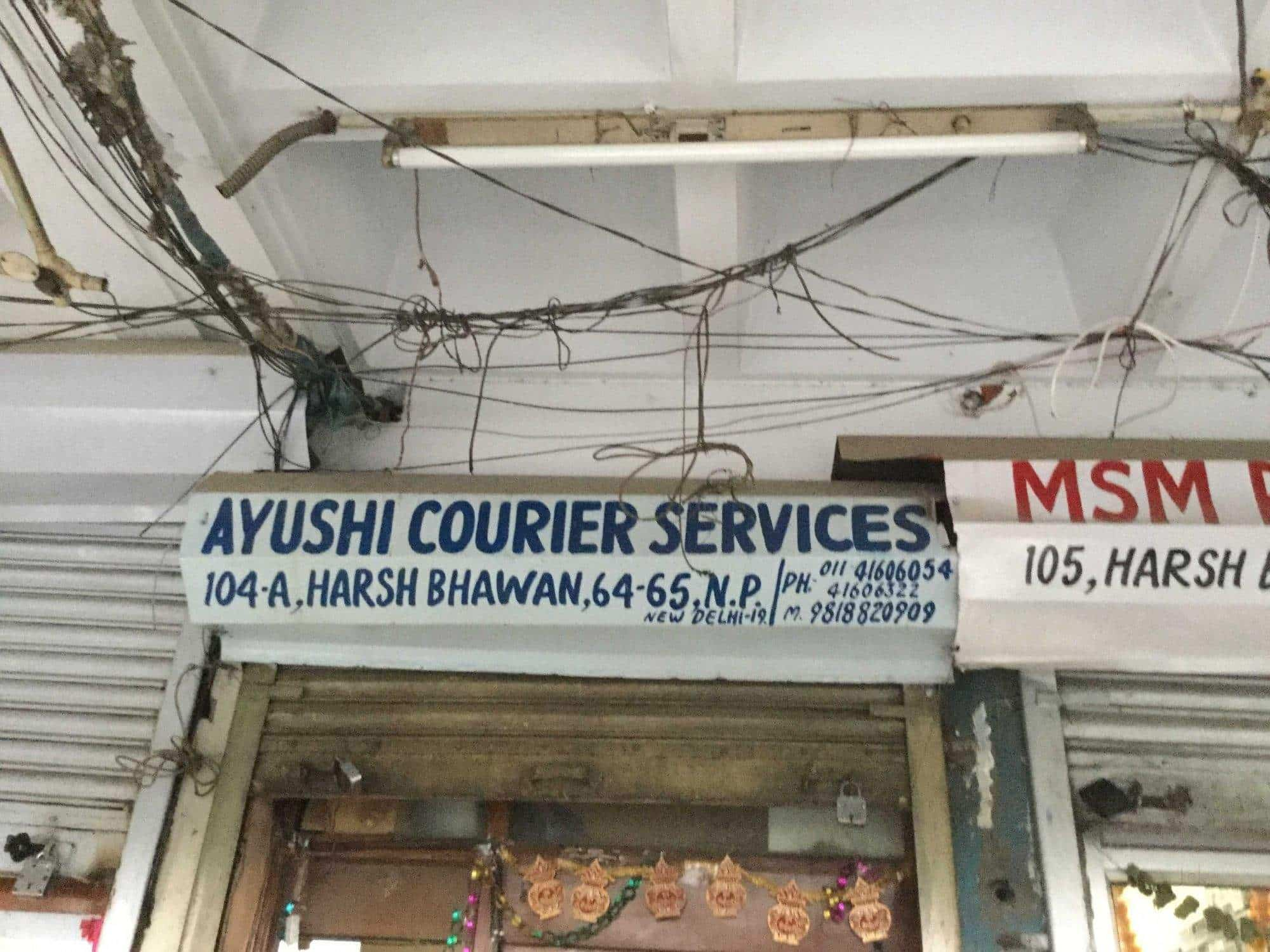 Ayushi Courier Services, Nehru Place - Courier Services in