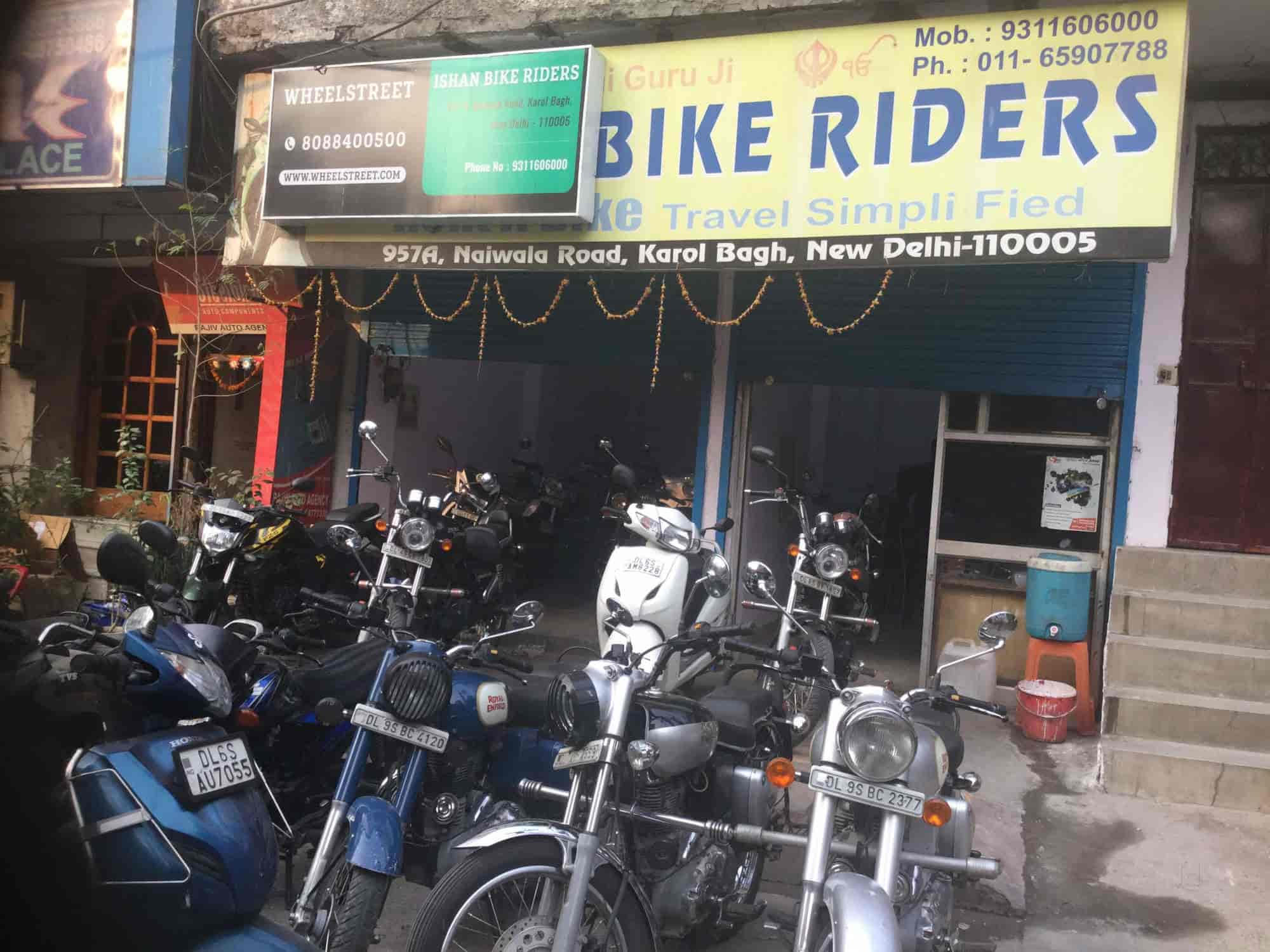 ishan bike riders closed down photos karol bagh delhi pictures