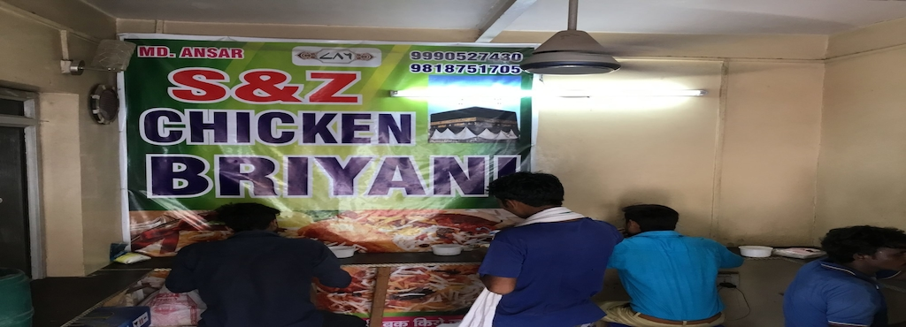 S And Z Chicken Biryani Vishwakarma Colony Delhi Restaurants