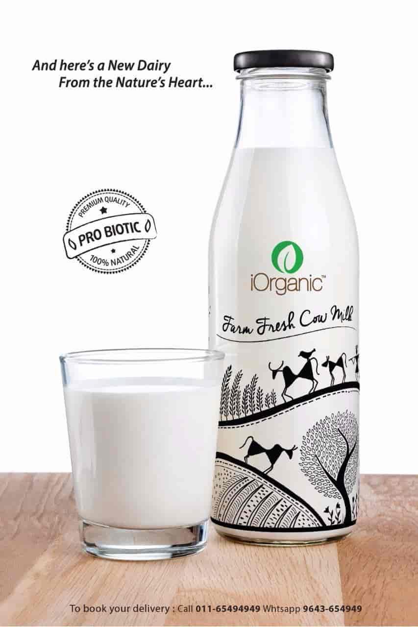 I Organic Cow Milk, Ashok Vihar 3 - Grocery Stores in Delhi